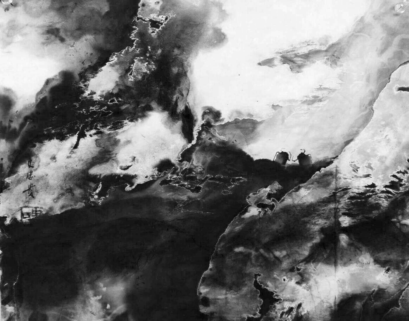 Shi Zhong Gui - Art Works - Chinese Paintings - Black and White